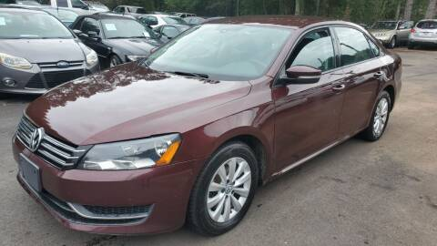 2013 Volkswagen Passat for sale at GA Auto IMPORTS  LLC in Buford GA