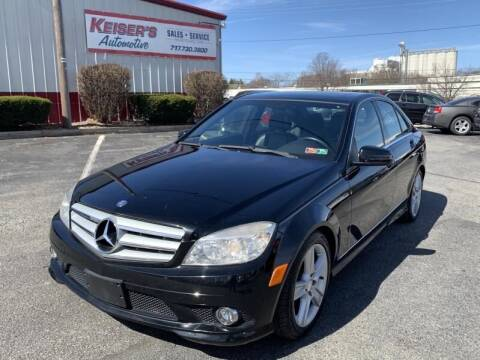 2010 Mercedes-Benz C-Class for sale at Keisers Automotive in Camp Hill PA