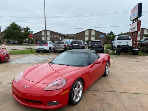 2005 Chevrolet Corvette for sale at Car Gallery in Oklahoma City OK