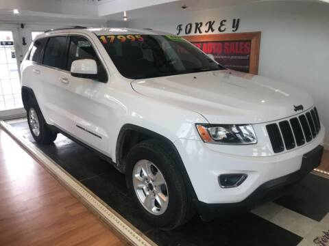 2014 Jeep Grand Cherokee for sale at Forkey Auto & Trailer Sales in La Fargeville NY