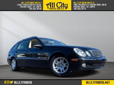 2004 Mercedes-Benz E-Class for sale at All City Auto Sales II in Indian Trail NC