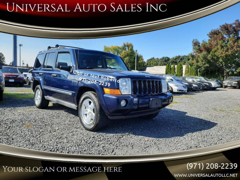 Used Jeep Commander For Sale In Oregon Carsforsale Com