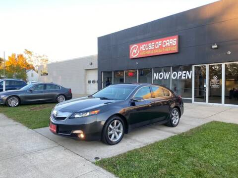 2012 Acura TL for sale at HOUSE OF CARS CT in Meriden CT