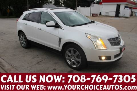 2012 Cadillac SRX for sale at Your Choice Autos in Posen IL
