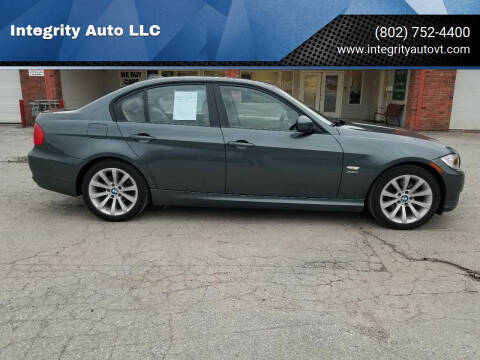 2011 BMW 3 Series for sale at Integrity Auto LLC - Integrity Auto 2.0 in St. Albans VT