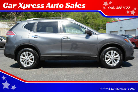 2014 Nissan Rogue for sale at Car Xpress Auto Sales in Pittsburgh PA