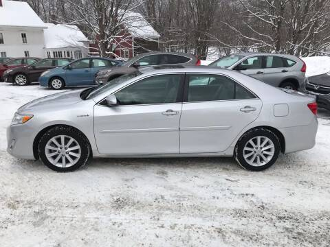 2013 Toyota Camry Hybrid for sale at MICHAEL MOTORS in Farmington ME