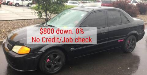 1999 Mazda Protege for sale at D & J AUTO EXCHANGE in Columbus IN