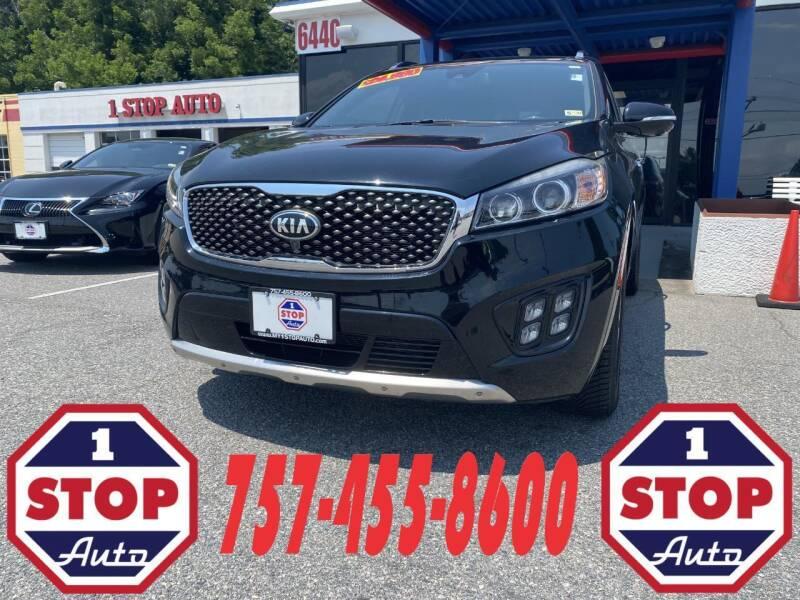 2016 Kia Sorento for sale at 1 Stop Auto in Norfolk VA