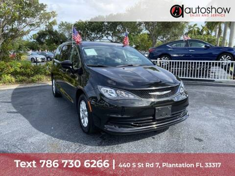 2020 Chrysler Voyager for sale at AUTOSHOW SALES & SERVICE in Plantation FL