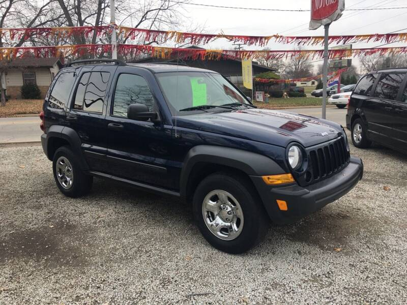 2006 Jeep Liberty for sale at Antique Motors in Plymouth IN