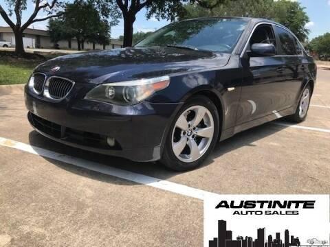 2007 BMW 5 Series for sale at Austinite Auto Sales in Austin TX