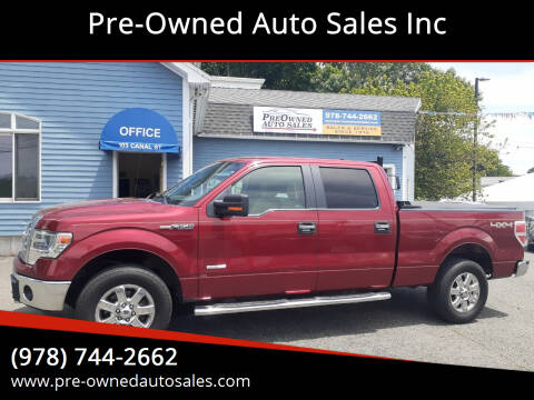 2014 Ford F-150 for sale at Pre-Owned Auto Sales Inc in Salem MA