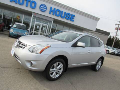 2012 Nissan Rogue for sale at Auto House Motors in Downers Grove IL
