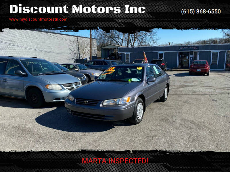 1999 Toyota Camry for sale at Discount Motors Inc in Madison TN