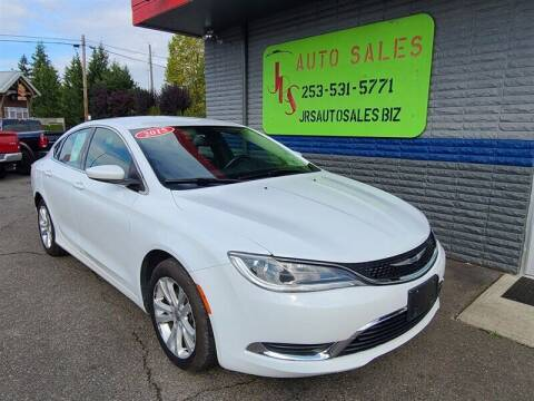 2015 Chrysler 200 for sale at Vehicle Simple @ JRS Auto Sales in Parkland WA