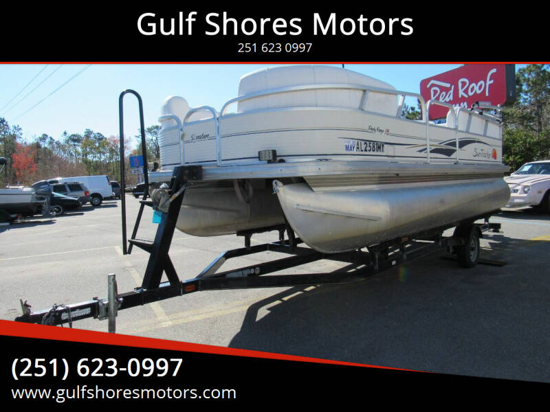 2008 Sun Trucker Party Barge 18 for sale at Gulf Shores Motors in Gulf Shores AL