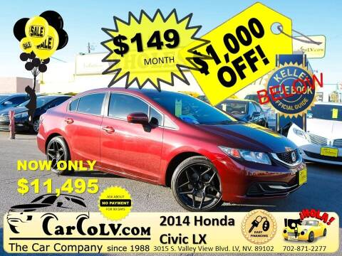 2014 Honda Civic for sale at The Car Company in Las Vegas NV