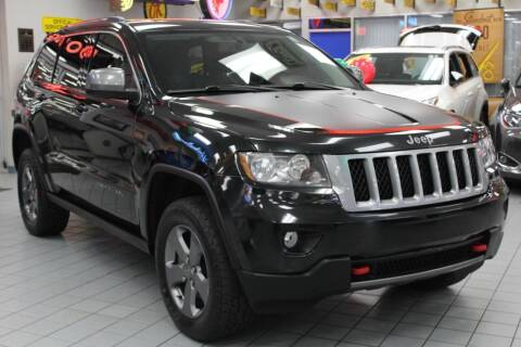 2013 Jeep Grand Cherokee for sale at Windy City Motors in Chicago IL