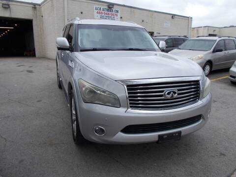 2011 Infiniti QX56 for sale at ACH AutoHaus in Dallas TX