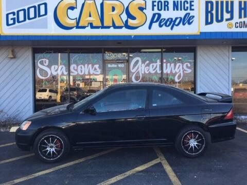 2002 Honda Civic for sale at Good Cars 4 Nice People in Omaha NE
