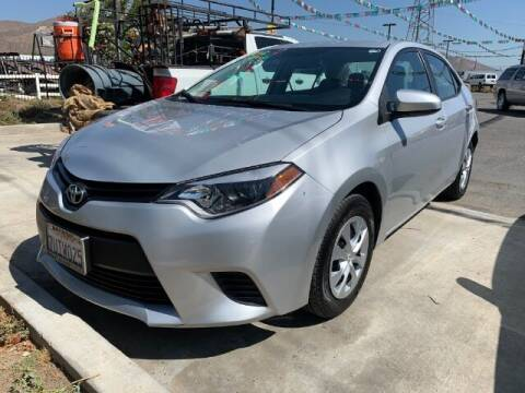 2016 Toyota Corolla for sale at Los Compadres Auto Sales in Riverside CA
