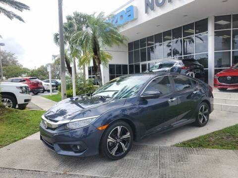 2016 Honda Civic for sale at Mazda of North Miami in Miami FL
