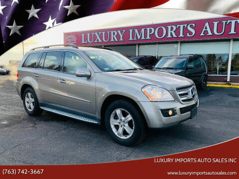 2008 Mercedes-Benz GL-Class for sale at LUXURY IMPORTS AUTO SALES INC in North Branch MN