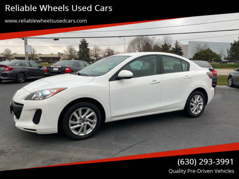 2013 Mazda MAZDA3 for sale at Reliable Wheels Used Cars in West Chicago IL