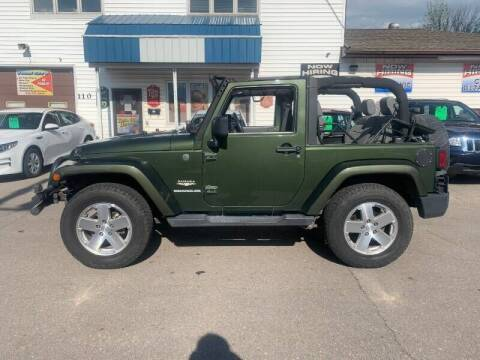 2008 Jeep Wrangler for sale at Twin City Motors in Grand Forks ND