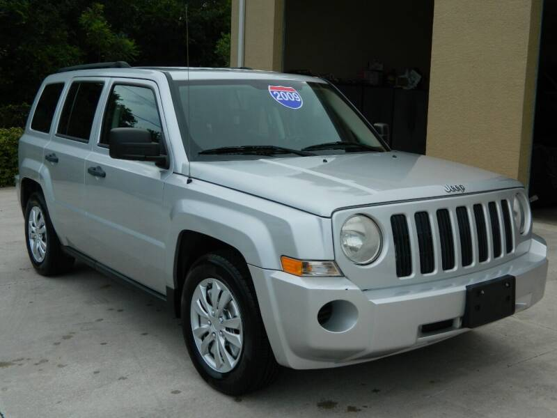 2009 Jeep Patriot for sale at Jeff's Auto Sales & Service in Port Charlotte FL