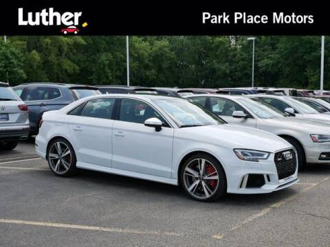 2018 Audi RS 3 for sale at Park Place Motor Cars in Rochester MN