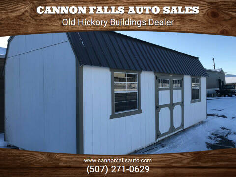 2020 Old Hickory Buildings Lofted Barn 12x24 for sale at Cannon Falls Auto Sales in Cannon Falls MN