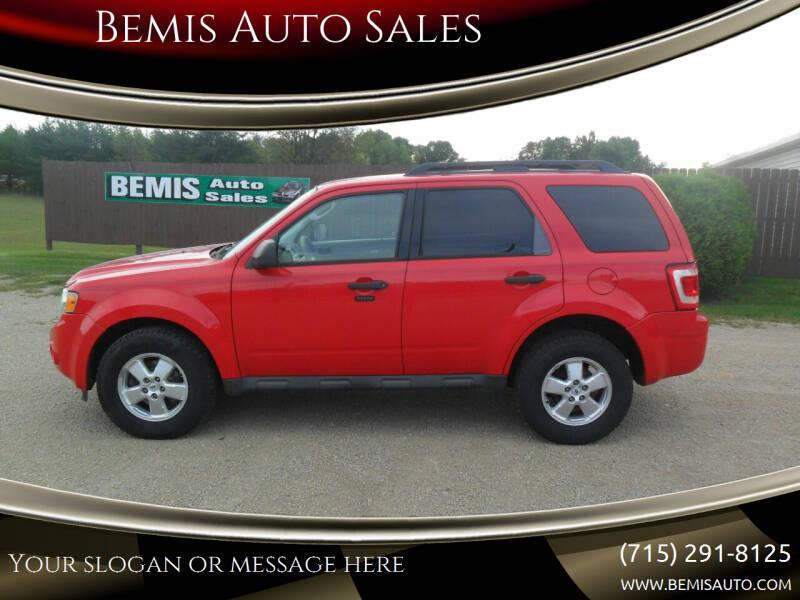 2009 Ford Escape for sale at Bemis Auto Sales in Crivitz WI