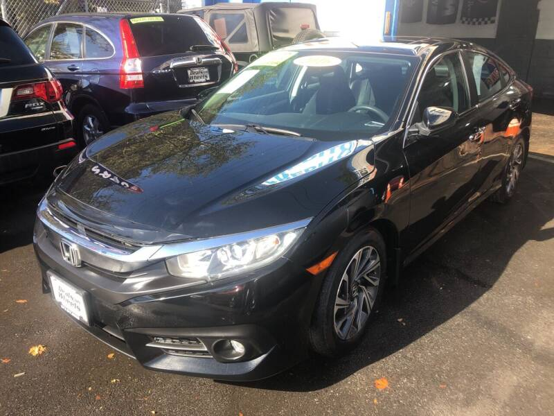 2016 Honda Civic for sale at DEALS ON WHEELS in Newark NJ