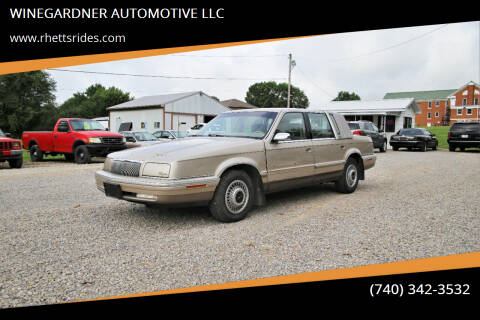 1993 Chrysler New Yorker for sale at WINEGARDNER AUTOMOTIVE LLC in New Lexington OH