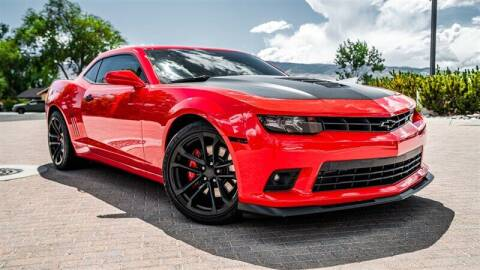 2015 Chevrolet Camaro for sale at MUSCLE MOTORS AUTO SALES INC in Reno NV