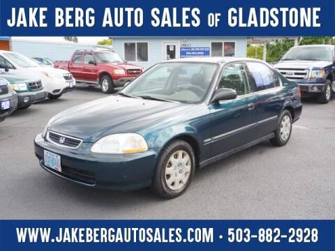 1998 Honda Civic for sale at Jake Berg Auto Sales in Gladstone OR