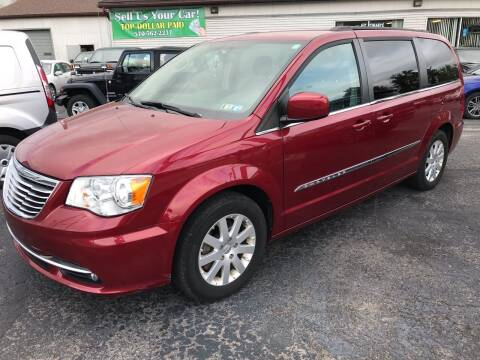 2016 Chrysler Town and Country for sale at Rinaldi Auto Sales Inc in Taylor PA