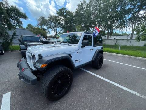 2019 Jeep Wrangler for sale at Bay City Autosales in Tampa FL