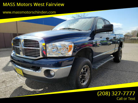 2008 Dodge Ram Pickup 2500 for sale at MASS Motors West Fairview in Boise ID