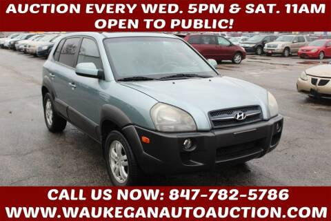 2006 Hyundai Tucson for sale at Waukegan Auto Auction in Waukegan IL