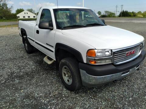 2002 GMC Sierra 2500HD for sale at Oxford Motors Inc in Oxford PA