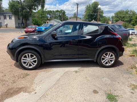2016 Nissan JUKE for sale at PYRAMID MOTORS AUTO SALES in Florence CO