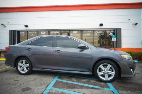 2012 Toyota Camry for sale at Car Depot in Miramar FL