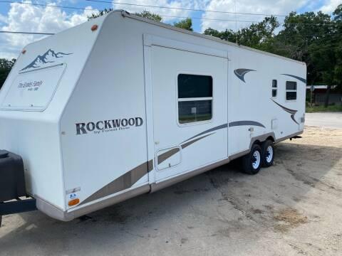 2004 Rockwood MINI LITE for sale at ROGERS RV in Burnet TX