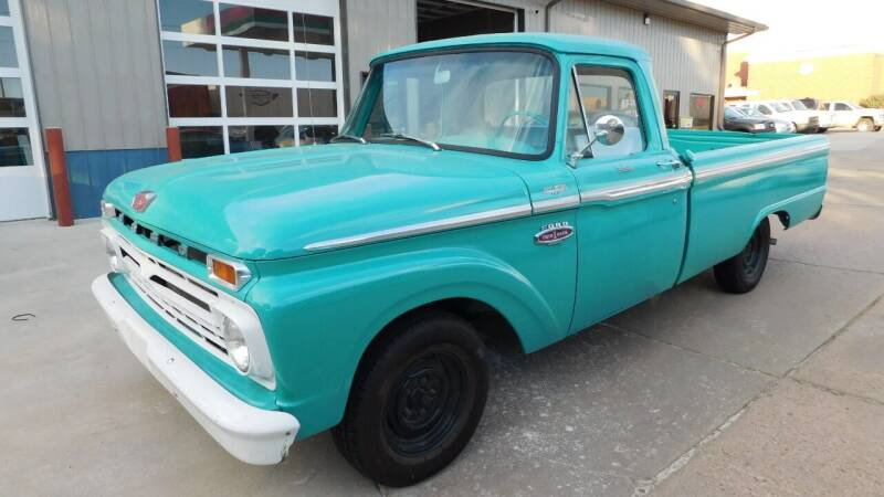 1966 Ford F-100 for sale at Mid Kansas Auto Sales in Pratt KS