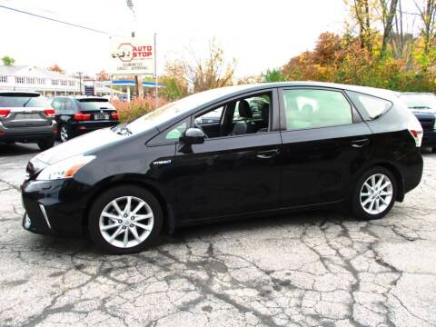 2013 Toyota Prius v for sale at AUTO STOP INC. in Pelham NH