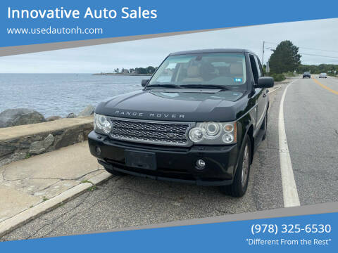 2008 Land Rover Range Rover for sale at Innovative Auto Sales in North Hampton NH