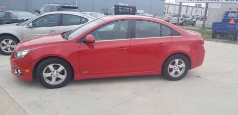 2012 Chevrolet Cruze for sale at GOOD NEWS AUTO SALES in Fargo ND